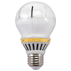 3M LED Advanced Light Bulbs A-19, 60 Watts, Soft White
