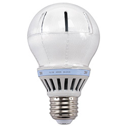 3M LED Advanced Light Bulbs A-19, 60 Watts, Cool White