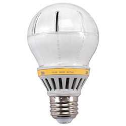 3M LED Advanced Light Bulbs A-19, 57 Watts, Soft White