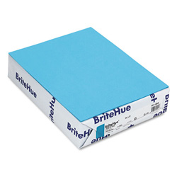 Mohawk/Strathmore Papers Text Paper, Blue, 8 1/2 x 11, 24 lb., 500 Sheets/Ream