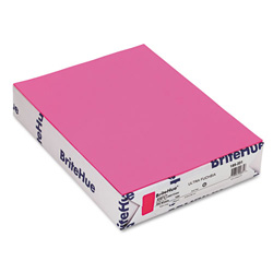 Mohawk/Strathmore Papers Text Paper, Ultra Fuchsia, 8 1/2 x 11, 20 lb., 500/Ream