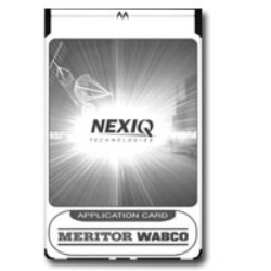 Nexiq Tech Meritor Wabco ABS Air Brake Application Card for the MPC, Pro-Link, Plus and Pro-Link Graphiqwith PLC