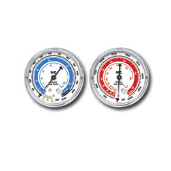 "Mastercool 2-1/2"" Low Side R-134A/R-12 Replacement Gauge"