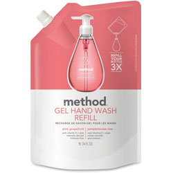 Method Products Grapefruit Soap Dispenser Refill, 34 Oz, Moisturizing