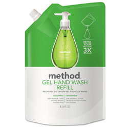 Method Products Cucumber Soap Dispenser Refill, 34 Oz, Moisturizing
