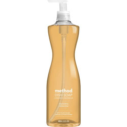 Method Products Dish Pump, Clementine, 18 oz. Pump Bottle
