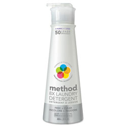 Method Products Laundry Detergent, Free & Clear, 20 oz Bottle