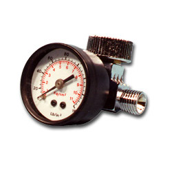 Mountain Air Regulator w/Gauge