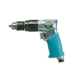 "Mountain 3/8"" Reversible Air Drill w/Rubber Grip Handle"