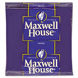 maxwell house coffee filter packs. Black Bedroom Furniture Sets. Home Design Ideas