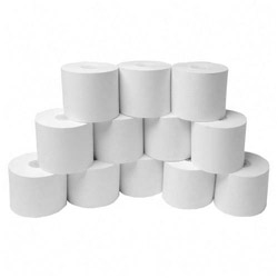"Nature Saver Bulk Recycled Adding Machine Rolls, Convenience Pack, 2 1/4""x150', White"