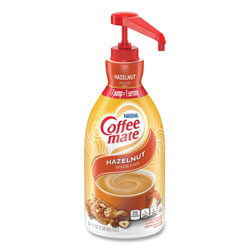 Coffee-Mate® 31831 Liquid Coffee Creamer, Nondairy, Hazelnut, 67 Ounces