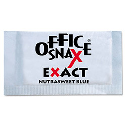 Office Snax Nutrasweet Blue Sweetener, 2000 Packets/Carton
