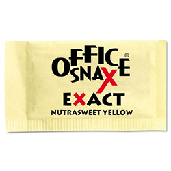 Office Snax Nutrasweet Yellow Sweetener, 2000 Packets/Carton