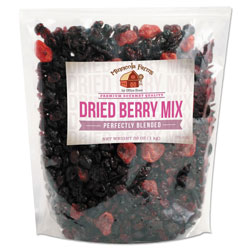 Office Snax Favorite Nuts, Dried Berry Mix, 38 oz Bag