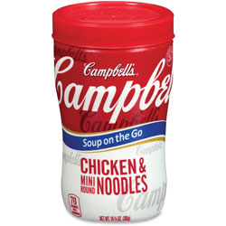 Campbell's® Microwaveable Soup At Hand, Chicken Mini Noodle