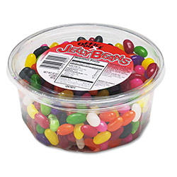 Ragold/Office Snax Jelly Beans, 2 lb. Tub