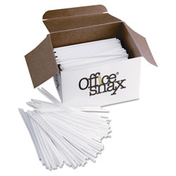 Ragold/Office Snax Plastic Stir Sticks, 1,000 per Box