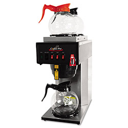 CoffeePro High-Capacity Plumbed-In Brewer, Stainless Steel