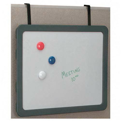 Officemate Magnetic Dry Erase, Charcoal Frame