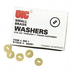 "Officemate Washers, Large, Hold from 1 1/4"" 4"" of Paper"