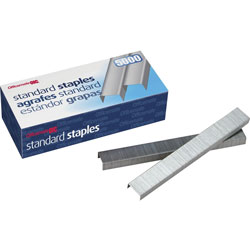 Officemate Staples, Standard Chisel Point, 5000 Staples/Box