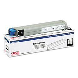 Okidata Type C7 Toner Cartridge for C9600, C9800, Black
