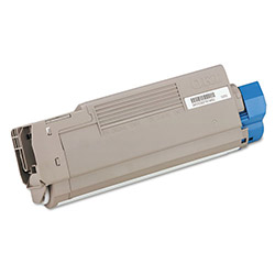 Okidata Laser Toner Cartridge for C5500/5800, Magenta