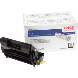 Okidata 52123603 High-Yield Toner, 26,000 Page-Yield, Black