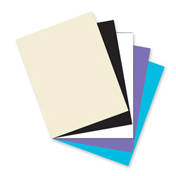 Riverside Paper Paper Card Stock Classic Assorted Colors Letter