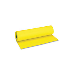 "Pacon Flame Retardant Art Rolls, 36""w x 1000 Ft., Yellow"