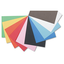"Riverside Paper Construction Paper, 12"" x 18"", 10 Assorted Colors"
