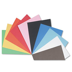 Riverside Paper Construction Paper, 76 lbs., 18 x 24, Assorted, 50 Sheets/Pack