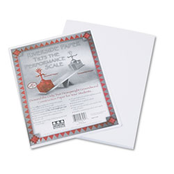"Riverside Paper Construction Paper, 9"" x 12"", White"