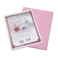 "Riverside Paper Construction Paper, 9"" x 12"", Pink"