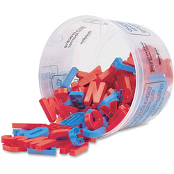 Pacon Magnetic Alphabet Letters, Plastic, Upper Case, 1-1/2""