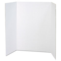 "Pacon White 48"" x 36"" Spotlight Presentation Board"