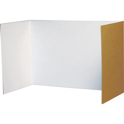 "Pacon Privacy Board, 48"" x 16"", 4/Pack, White"