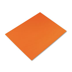 Riverside Paper Colored Four-Ply Poster Board, 28 x 22, Orange, 25 per Carton