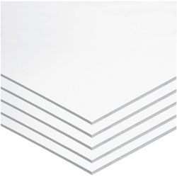 "Pacon Foam Board, 22""x28"", 5/CT, White"