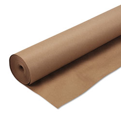 "Pacon Kraft Wrapping Paper, 50 lb., 48"" x 200' Roll, Natural"