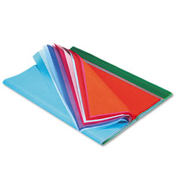 Pacon Art Tissue, 10 lbs., 20 x 30, 20 Assorted Colors, 100 Sheets/Pack