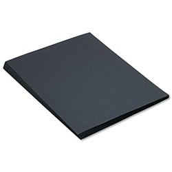 Pacon Construction Paper, 58 lbs., 18 x 24, Black, 50 Sheets/Pack