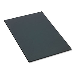 Pacon Construction Paper, 58 lbs., 24 x 36, Black, 50 Sheets/Pack