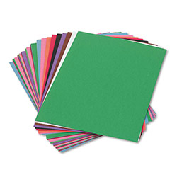 Pacon Construction Paper, 58 lbs., 9 x 12, Assorted, 50 Sheets/Pack