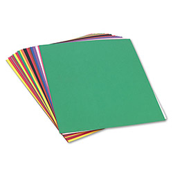 Pacon Construction Paper, 58 lbs., 18 x 24, Assorted, 50 Sheets/Pack
