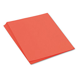 Pacon Construction Paper, 58 lbs., 18 x 24, Orange, 50 Sheets/Pack