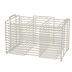 Pacon Vertical or Horizontal Storage Wire Rack, White
