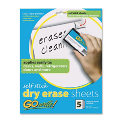 "Pacon Dry Erase Sheets, 8.5"" x 11"""