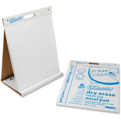 Pacon Dry Erase Table Top Non-Adhesive Easel Pad, 20 x 23, 4 10-Sheet Pads/CT